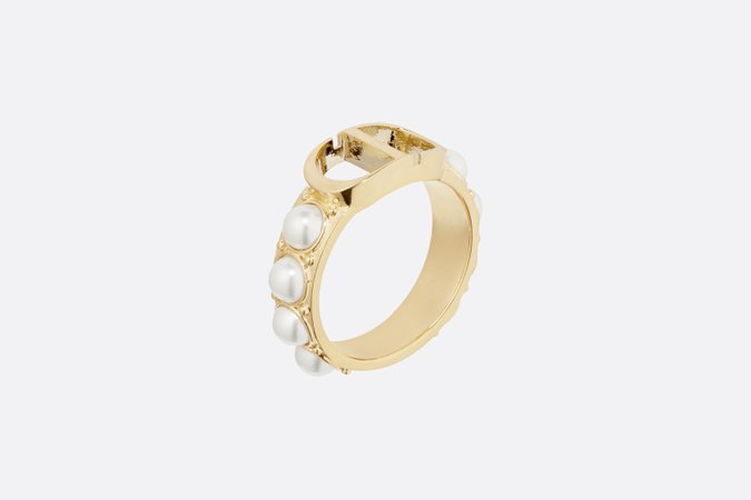 30 Montaigne Gold Finish Ring - Fashion Jewelry - Women's Fashion | DIOR