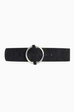 Buy Black Suede Wide Belt from the Next UK online shop