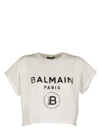 Balmain Balmain T-shirt White/black - Black/white - 11201031 | italist