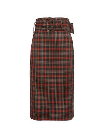 ベルト付チェックロングスカート - DAZZLE FASHION(ダズルファッション)/d'zzit(ディジット)公式サイト