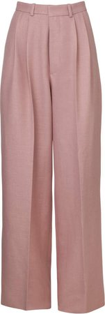 DoDo Bar Or Coco Pleated Wide-Leg Trousers