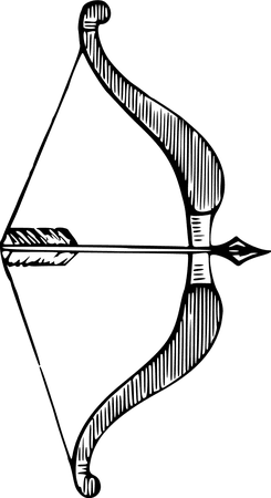 Bow and arrow-281834.png (545×1000)