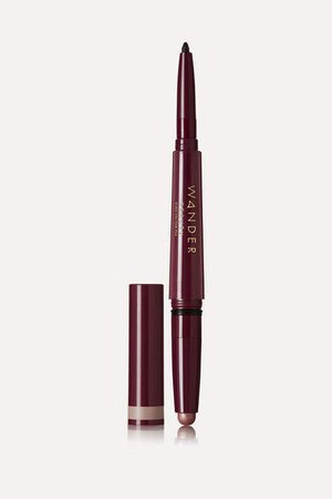 Wander Beauty - Eyes On The Dual Cream Shadow And Eyeliner - Gilded/ Black Jet