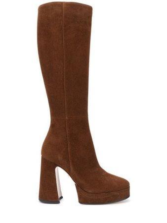 Gucci 120mm knee-high Platform Boots - Farfetch