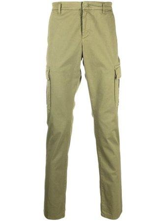 Dondup straight-leg cargo trousers - FARFETCH