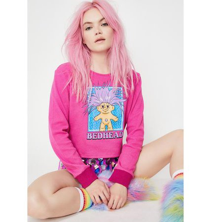 Good Luck Trolls x Dolls Kill Bedhead Troll Thermal | Dolls Kill