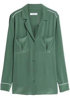 Sonny Washed-silk Shirt
