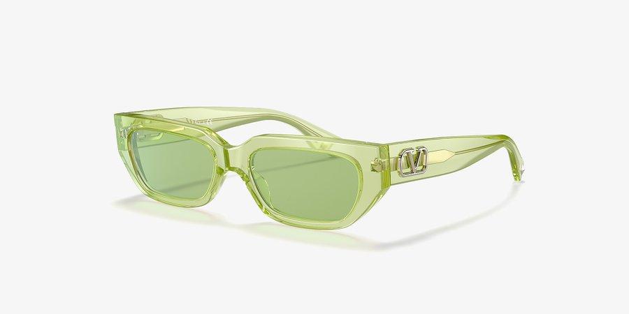 Valentino VA4080 Green & Green Sunglasses | Sunglass Hut USA