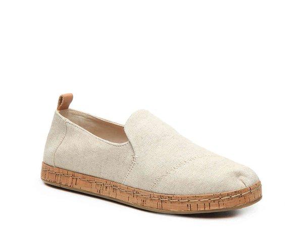 TOMS Deconstructed Alpargata Flat Women's Shoes | DSW