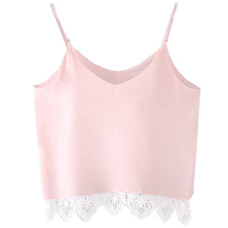pink cami