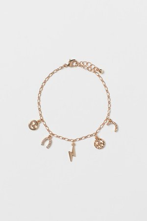 Pendant-detail Bracelet - Gold-colored - Ladies | H&M US