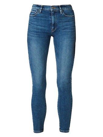 Hudson Barbara High-Rise Super Skinny Ankle Jeans | SaksFifthAvenue
