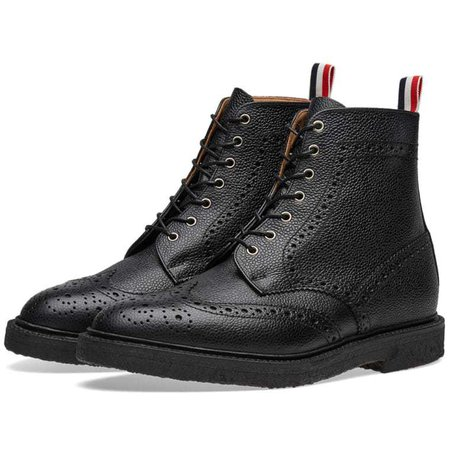 THOM BROWNE WING TIPS