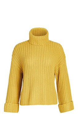 525 Wide Sleeve Turtleneck | SHOPBOP