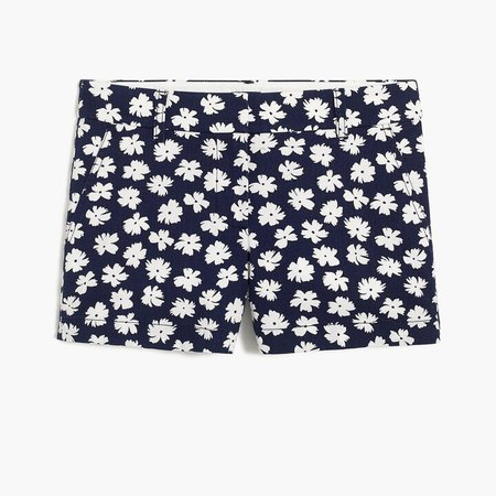 """3.5"""" Classic Chino Short In Floral"""