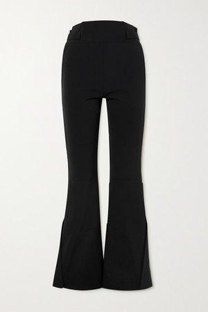 Bootcut Ski Pants - Black