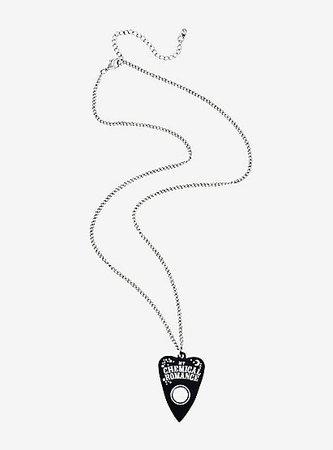 My Chemical Romance Planchette Necklace