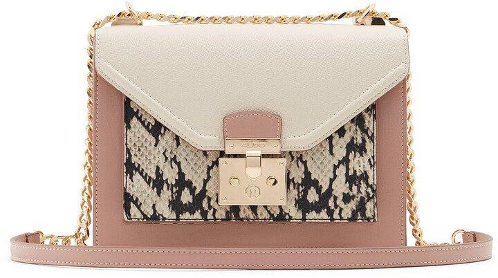 Yukiya Faux Leather Crossbody Bag