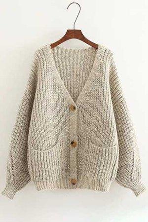 new-trendy-plain-n-neck-puff-sleeve-single-breasted-cardigan_1516806767279.jpg (392×588)