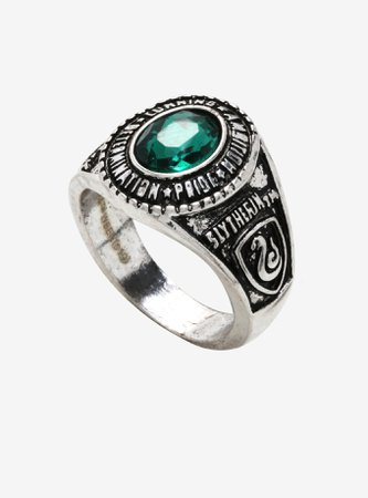 Harry Potter Slytherin Ring