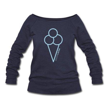 ShopLook | ShopLook ❤️ - Womens Wideneck Sweatshirt