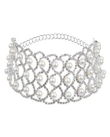 Beading Embellished Sparkly Necklace
