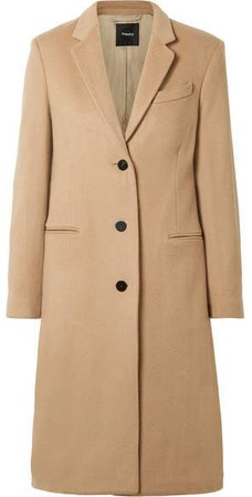 Cashmere Coat - Sand