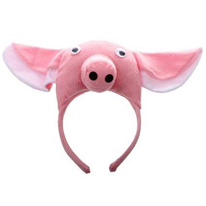pig headband