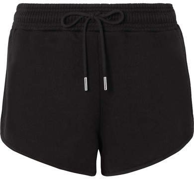 Ninety Percent - Farrah Organic Cotton-jersey Shorts - Black