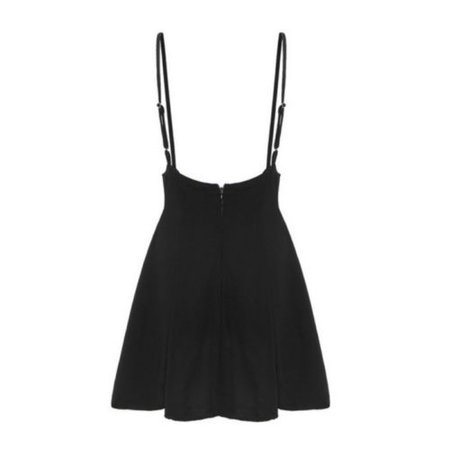 US Women Belt High Waist Suspender Skirt Skater Flared Pleated Strap Mini Dress | eBay