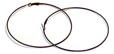 black earring hoop