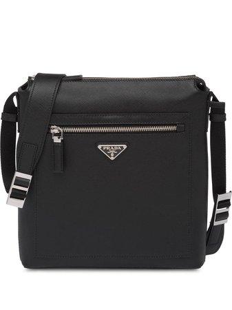 Prada Saffiano Leather Shoulder Bag - Farfetch