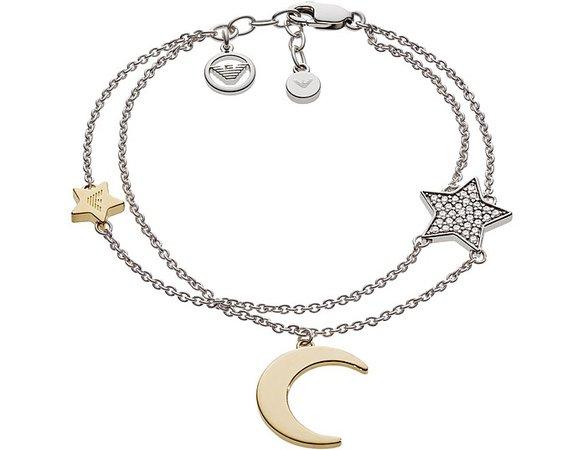 Emporio Armani Floating Moon Bracelet at FORZIERI