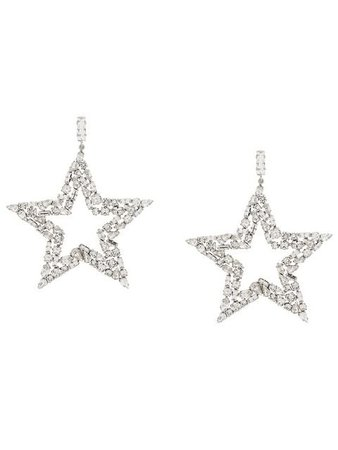 Saint Laurent embellished star earrings
