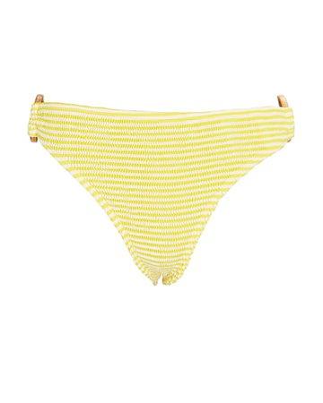 Cleonie Ripple Striped Bikini Bottoms   INTERMIX®