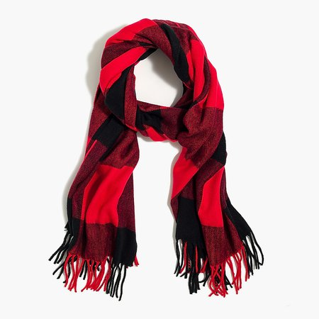 J.Crew Factory: Classic Plaid Scarf For Women