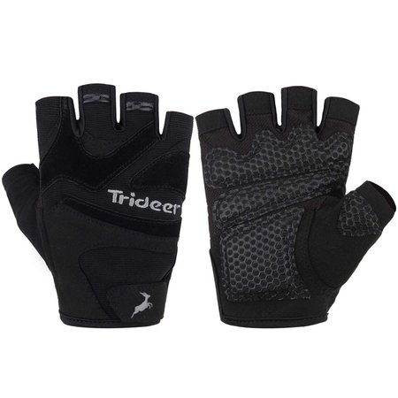 Amazon.com : Trideer Gym Gloves, Weight Lifting Gloves, Ultralight Workout Gloves, Flexible Exercise Gloves with Anti-Slip Silica Gel Grip & Adjustable Strap, Suits Men & Women : Sports & Outdoors