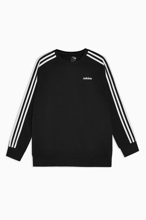 Boyfriend Stripe Long Sleeve Top by adidas   Topshop