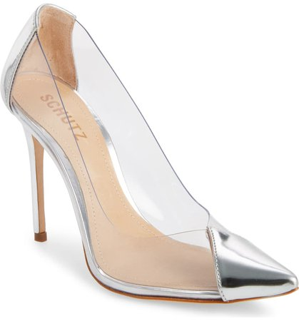 Schutz Cendi Transparent Pump (Women) | Nordstrom