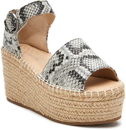 Flirty Espadrille Wedge Sandal
