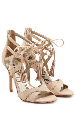 Azela Suede Stiletto Sandals Gr. EU 38
