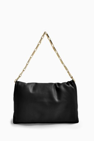Black Chain Clutch Bag | Topshop