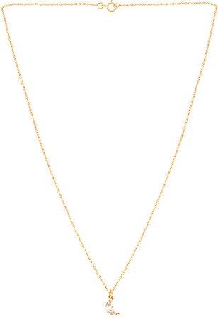 Joy Dravecky Jewelry Luna Charm Necklace