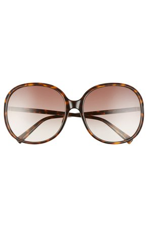 Givenchy 63mm Oversize Gradient Round Sunglasses | Nordstrom