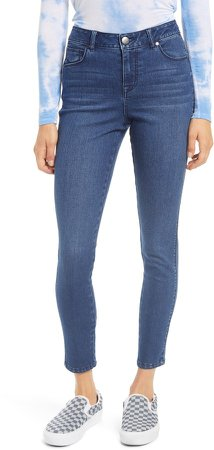 RE:Denim High Waist Ankle Skinny Jeans