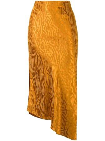 Alice+Olivia tiger-print Slip Skirt - Farfetch