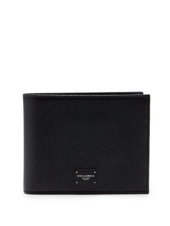 Bi-fold grained-leather wallet | Dolce & Gabbana | MATCHESFASHION.COM UK