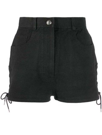 Chanel 1990's high rise shorts - Black