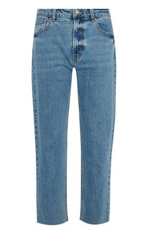 Primark  Light Blue Straight Leg Jeans Denim