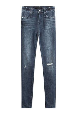 Distressed Skinny Jeans Gr. 24